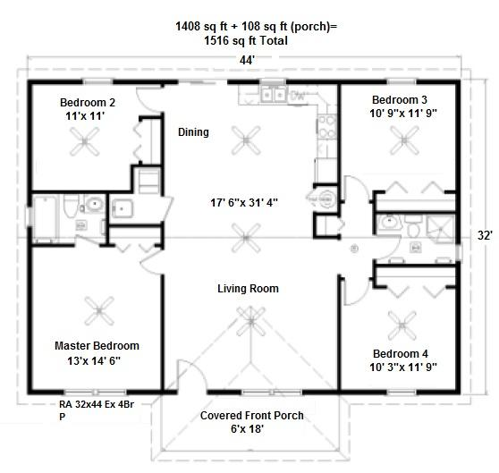 image-229564-RA 32x44-4BD 2Bath-1516 sq ft.jpg