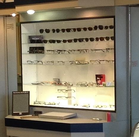 Mall Vision Center eyewear, frames, designer brands.